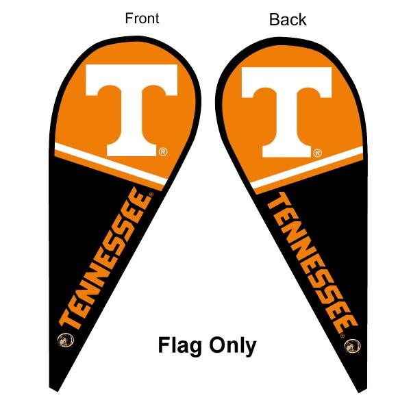Tennessee Vols Teardrop Flag