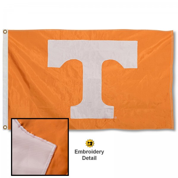 Tennessee Volunteers Appliqued Nylon Flag