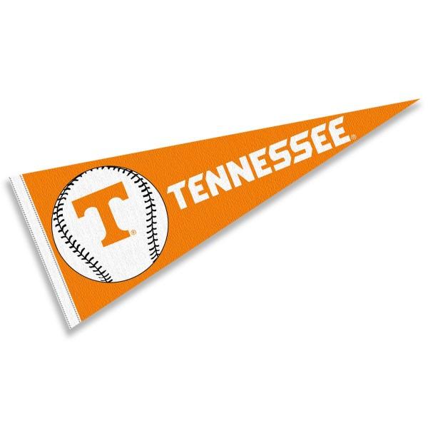 Tennessee Volunteers Baseball College Pennant