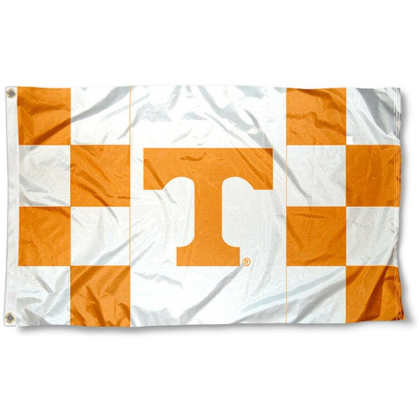 Tennessee Volunteers Checkered Flag