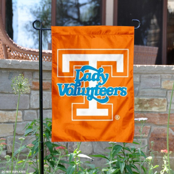 Tennessee Volunteers Lady Vols Garden Flag