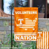 Tennessee Volunteers Nation Garden Flag
