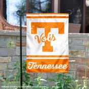 Tennessee Volunteers Retro Throwback Garden Banner