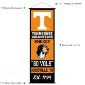 Tennessee Volunteers Wall Banner and Door Scroll
