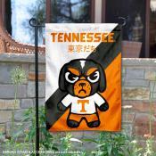 Tennessee Volunteers Yuru Chara Tokyo Dachi Garden Flag