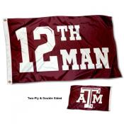 Texas A&M 12 Man Flag