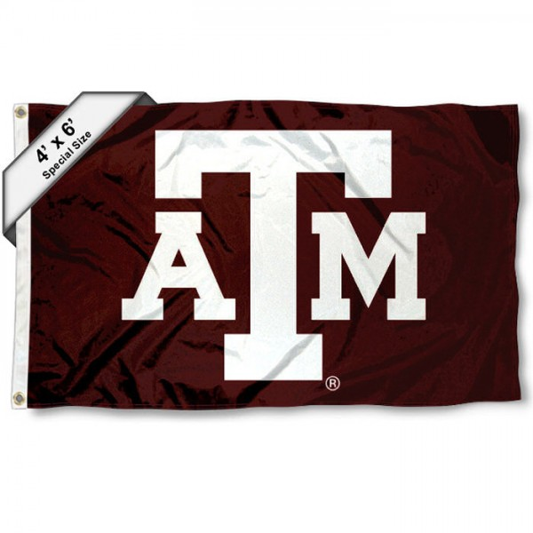 Texas A&M 4'x6' Flag