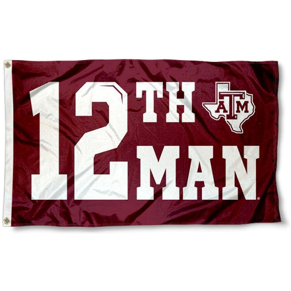 Texas A&M Aggies Flag