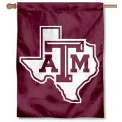 Texas A&M Aggies Lone Star House Flag