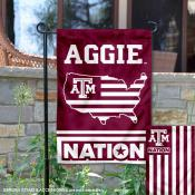 Texas A&M Aggies Nation Garden Flag