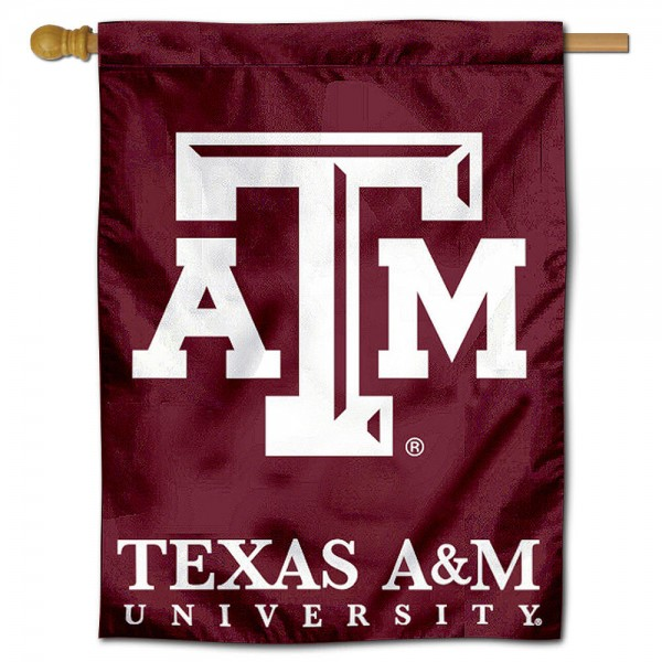 Texas A&M Aggies Polyester House Flag