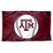 Texas A&M Baseball Flag