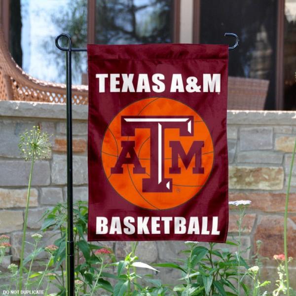 Texas A&M Basketball Garden Flag