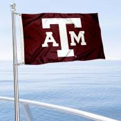 Texas A&M Boat Flag
