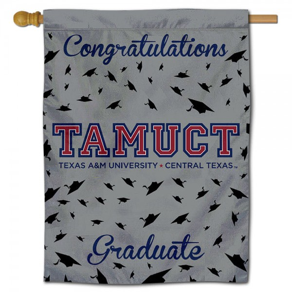 Texas A&M Central Texas Warriors Graduation Banner