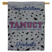Texas A&M Central Texas Warriors Graduation Banner