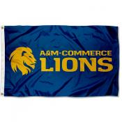 Texas A&M Commerce Lions 3x5 Foot Flag