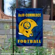Texas A&M Commerce Lions Football Garden Flag