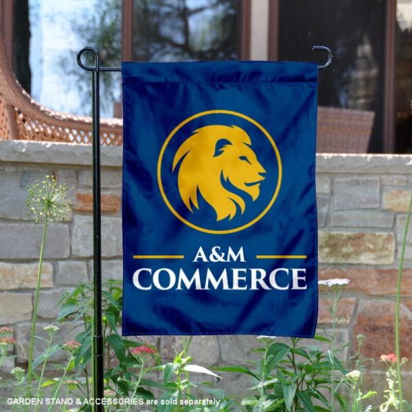 Texas A&M Commerce Lions Garden Banner