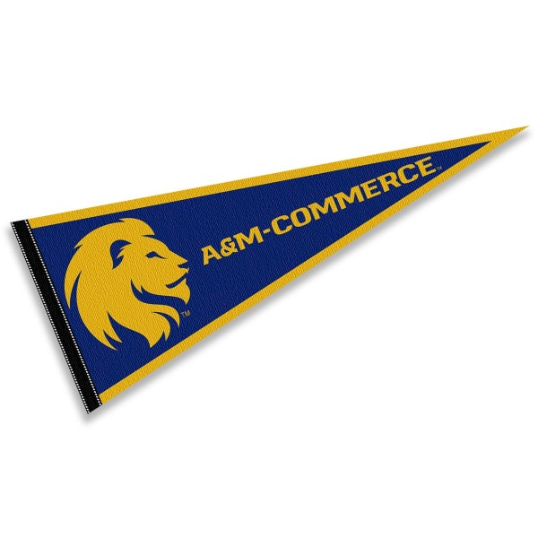 Texas A&M Commerce Lions Pennant