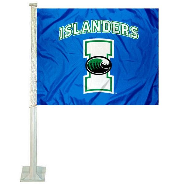 Texas A&M Corpus Christi Islanders Logo Car Flag