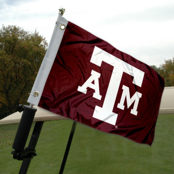 Texas A&M Golf Cart Flag