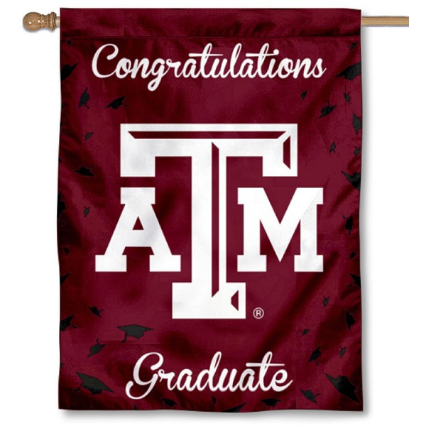 Texas A&M Graduation Banner