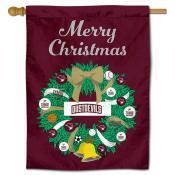 Texas A&M International Dustdevils Christmas Holiday House Flag