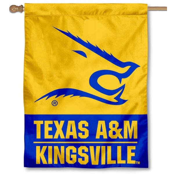 Texas A&M Kingsville Javelinas House Flag
