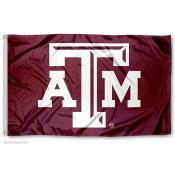 Texas A&M Logo Flag