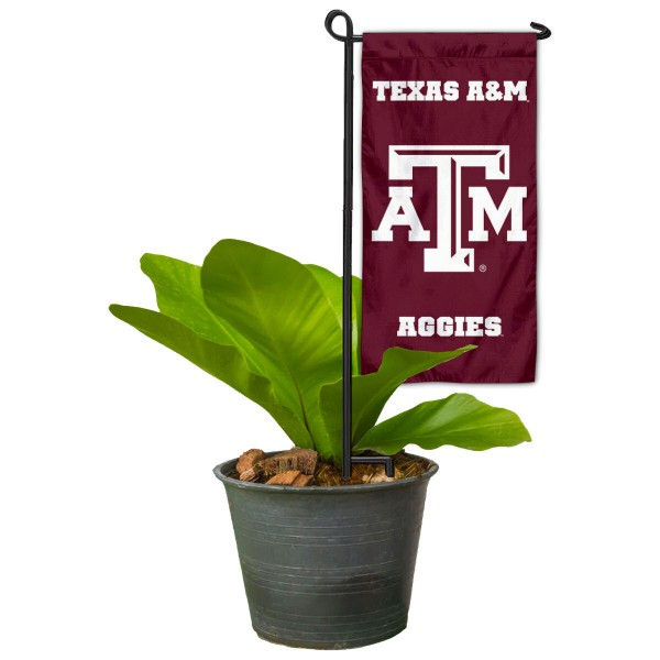 Texas A&M Mini Garden Flag and Table Topper