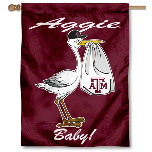 Texas A&M New Baby Banner