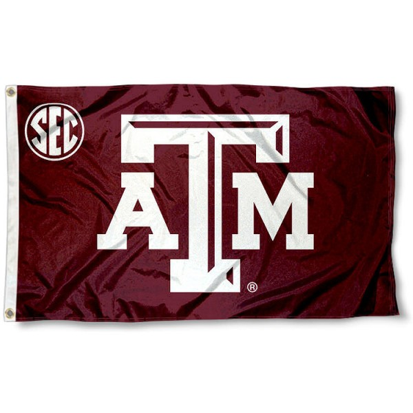 Texas A&M SEC Flag