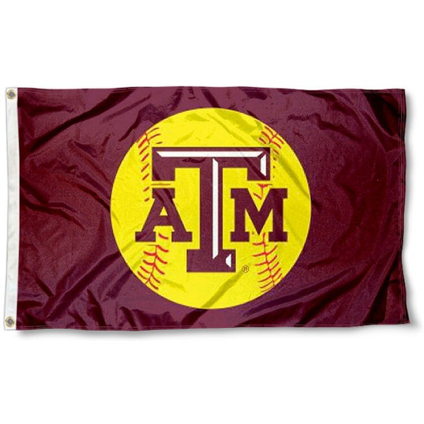 Texas A&M Softball Flag