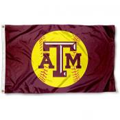 Texas A&M Softball Flag