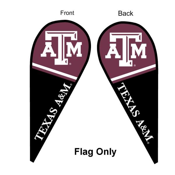 Texas A&M Teardrop Flag