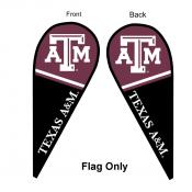 Texas A&M Teardrop Flag