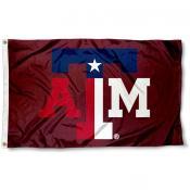 Texas A&M Texas State Colors Flag