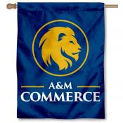Texas A&M University Commerce Logo House Flag