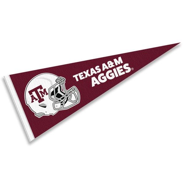 Texas A&M University Football Helmet Pennant