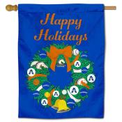 Texas Arlington Mavericks Christmas Holiday House Flag