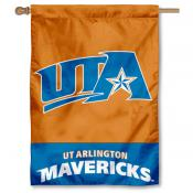 Texas Arlington Mavericks House Flag