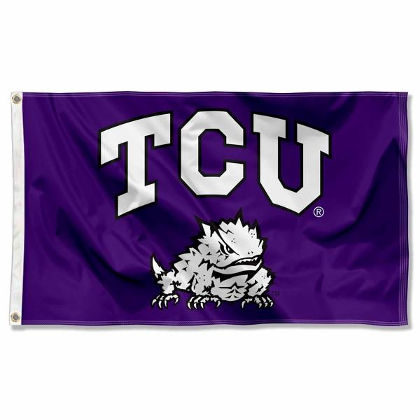 Texas Christian Flag