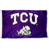 Texas Christian Flag