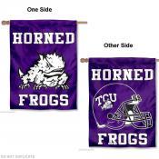 Texas Christian Horned Frogs House Flag