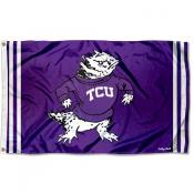 Texas Christian Horned Frogs Retro Vintage 3x5 Feet Banner Flag