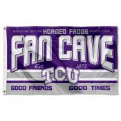 Texas Christian University Horned Frogs Man Cave Dorm Room 3x5 Banner Flag