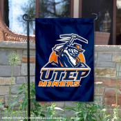 Texas El Paso Miners Double Sided Garden Flag