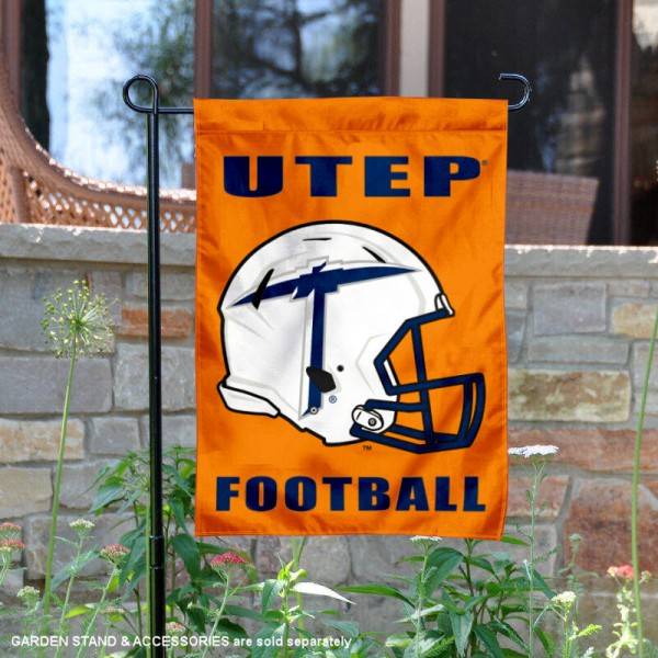 Texas El Paso Miners Football Garden Flag