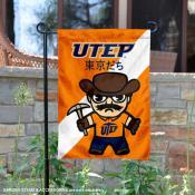 Texas El Paso Miners Yuru Chara Tokyo Dachi Garden Flag